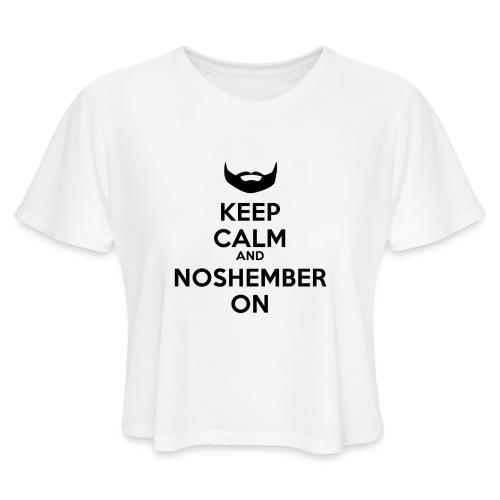 Noshember.com iPhone Case - Women's Cropped T-Shirt