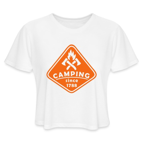 Campfire - Women's Cropped T-Shirt