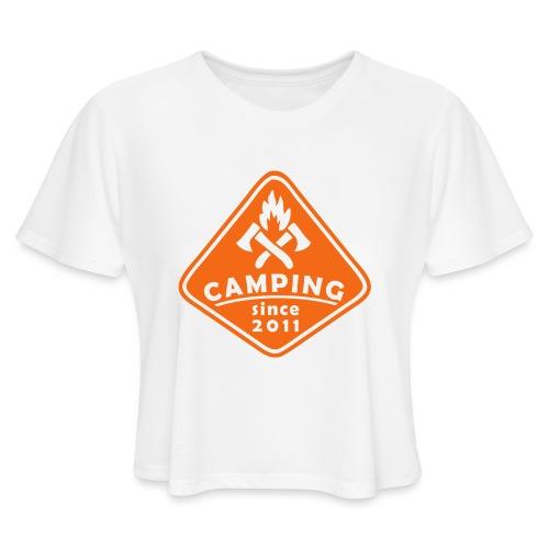 Campfire 2011 - Women's Cropped T-Shirt