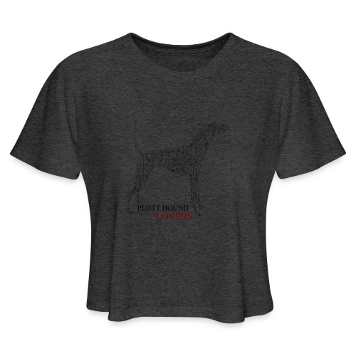 Plott Hound Lovers - Women's Cropped T-Shirt