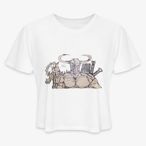 bdealers69 art - Women's Cropped T-Shirt