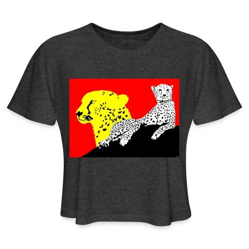 CHEETAH - Women's Cropped T-Shirt