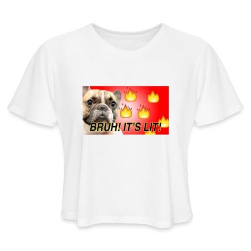 IMG 1465 - Women's Cropped T-Shirt