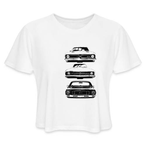 monaro over - Women's Cropped T-Shirt