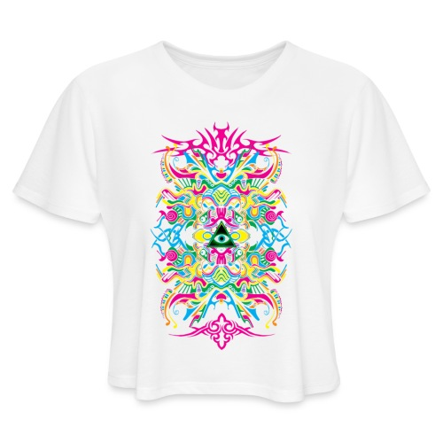 E.V. II - Color Edition - Women's Cropped T-Shirt