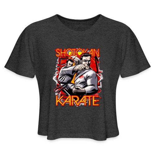 Shotokan Karate - Women's Cropped T-Shirt