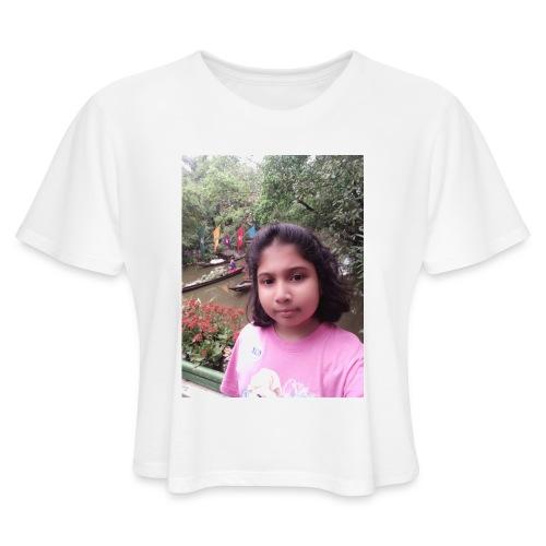 Tanisha - Women's Cropped T-Shirt