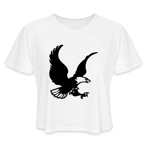 eagles - Women's Cropped T-Shirt