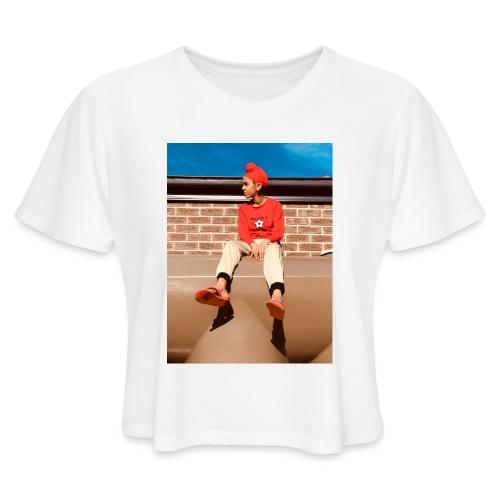 Flamin_Danger - Women's Cropped T-Shirt