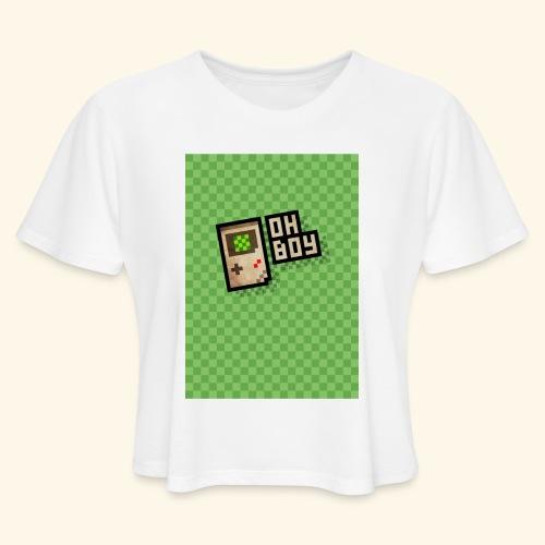 oh boy handy - Women's Cropped T-Shirt