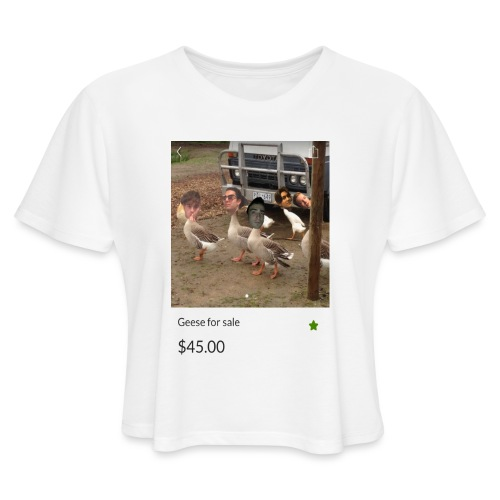 the___gaggle - Women's Cropped T-Shirt