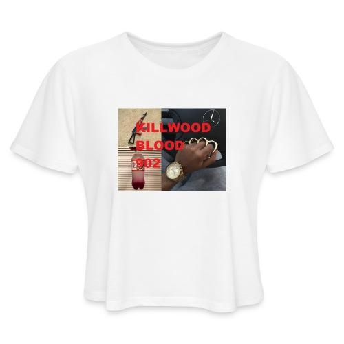 Killwood Blood 902 - Women's Cropped T-Shirt
