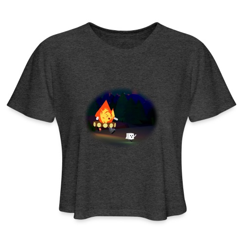 'Round the Campfire - Women's Cropped T-Shirt