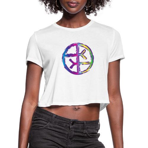 Empath Symbol - Women's Cropped T-Shirt