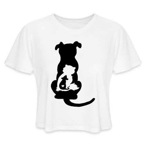 Harmony - Women's Cropped T-Shirt