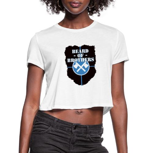 Beard Of Brothers - Women's Cropped T-Shirt