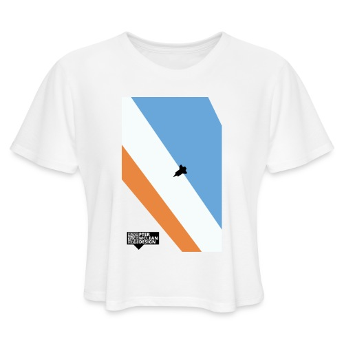 ENTER THE ATMOSPHERE - Women's Cropped T-Shirt