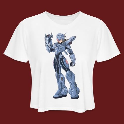megaman X Armor png - Women's Cropped T-Shirt