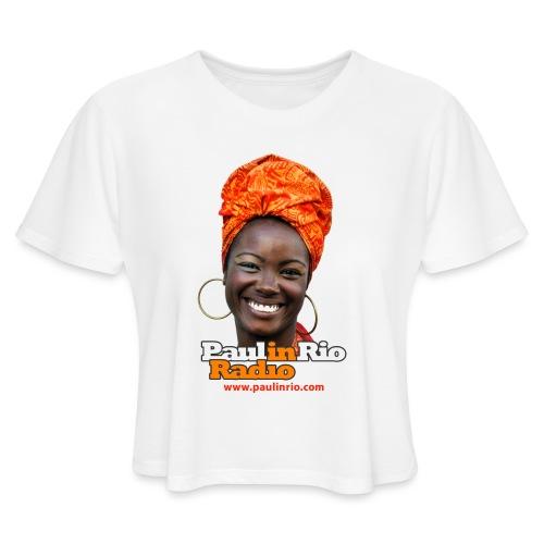 Paul in Rio Radio - Mágica garota - Women's Cropped T-Shirt