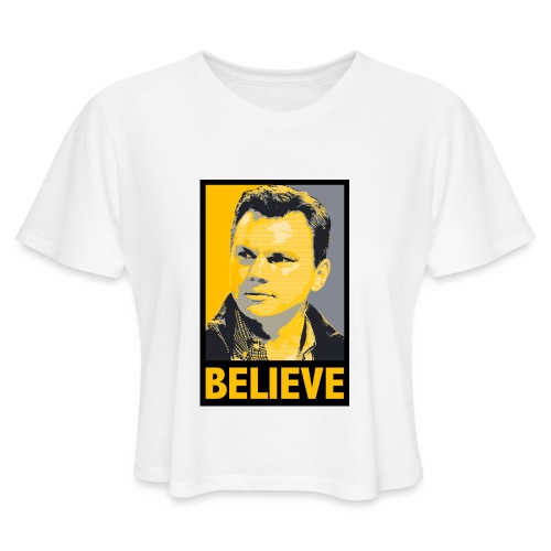 GMBC Believe - Women's Cropped T-Shirt