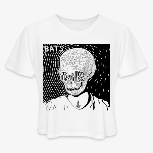 BATS TRUTHLESS DESIGN BY HAMZART - Women's Cropped T-Shirt