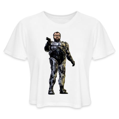 JorgeCop - Women's Cropped T-Shirt