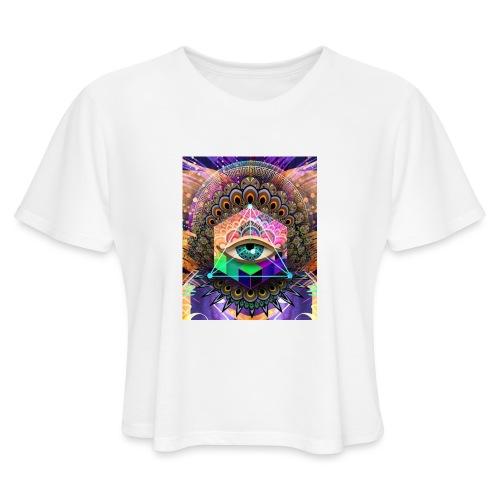 ruth bear - Women's Cropped T-Shirt