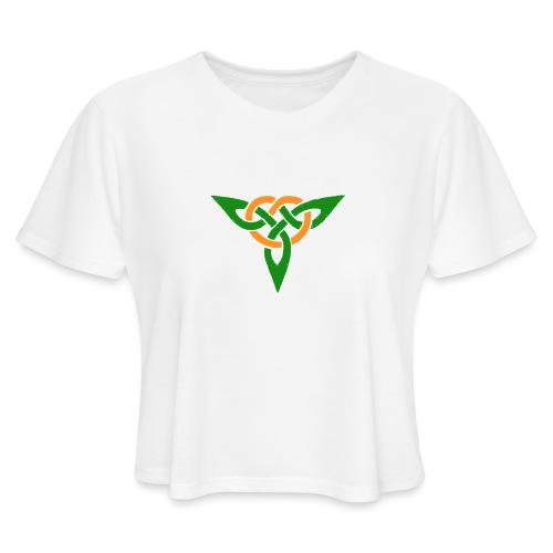 Trinity Knot - Women's Cropped T-Shirt