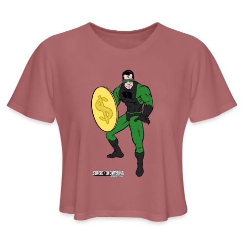 Superhero 4 - Women's Cropped T-Shirt