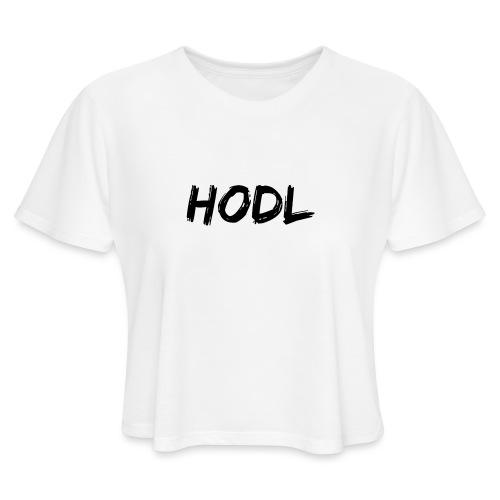 HODL - Women's Cropped T-Shirt
