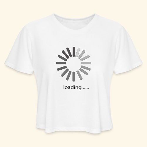 poster 1 loading - Women's Cropped T-Shirt
