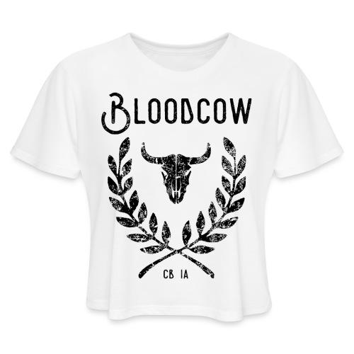 bloodorg Women's T-Shirts - Women's Cropped T-Shirt
