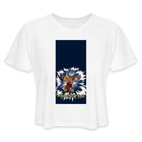 minotaur5 - Women's Cropped T-Shirt