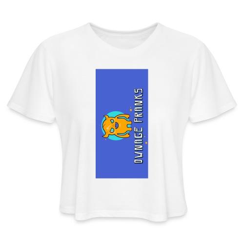 logo iphone5 - Women's Cropped T-Shirt