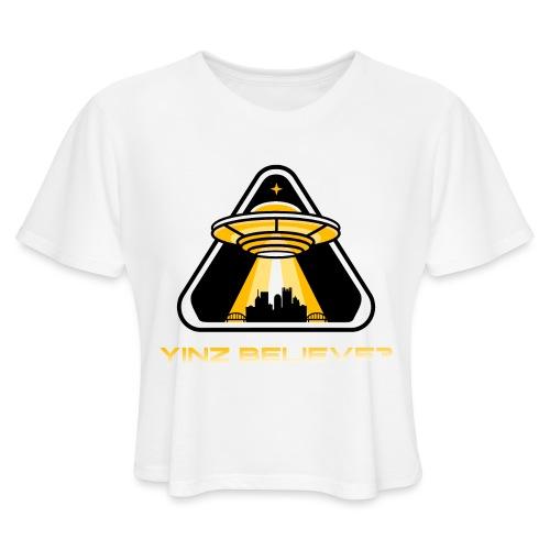 Yinz Believe? - Women's Cropped T-Shirt