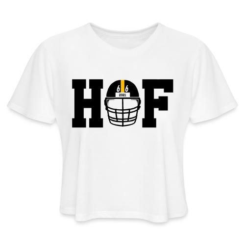 HOF 66 (On Light) - Women's Cropped T-Shirt