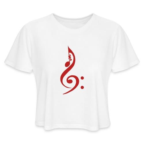 Red Key - Women's Cropped T-Shirt