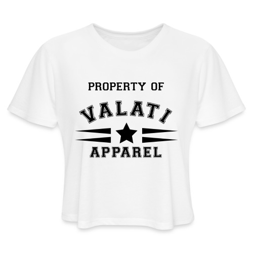 Property Of - Women's Cropped T-Shirt