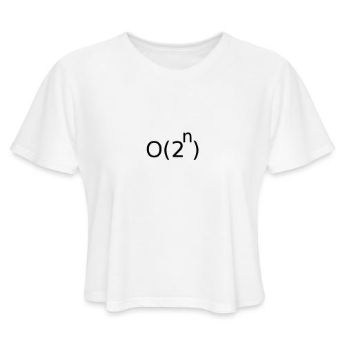Big-O Notation - Women's Cropped T-Shirt