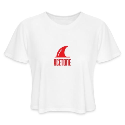 ALTERNATE_LOGO - Women's Cropped T-Shirt