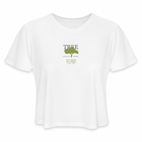 Tree Reading Swag - Women's Cropped T-Shirt