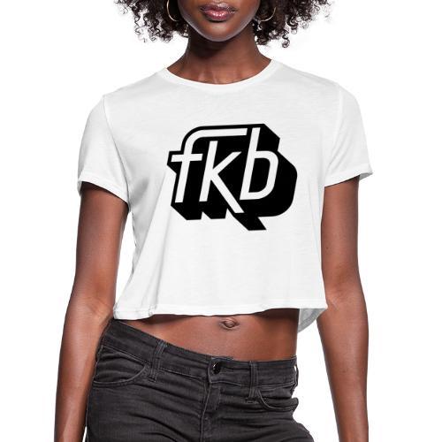 FKB Women's Vintage Cropped - Women's Cropped T-Shirt