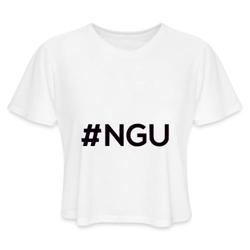 logo 11 final - Women's Cropped T-Shirt