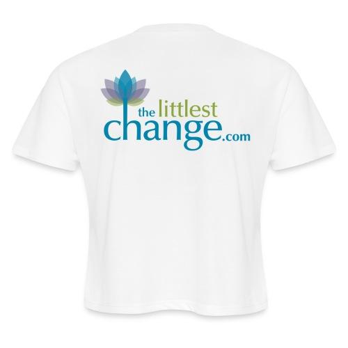 Teach, Love, Nurture - Women's Cropped T-Shirt