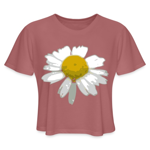 Daisy - Women's Cropped T-Shirt