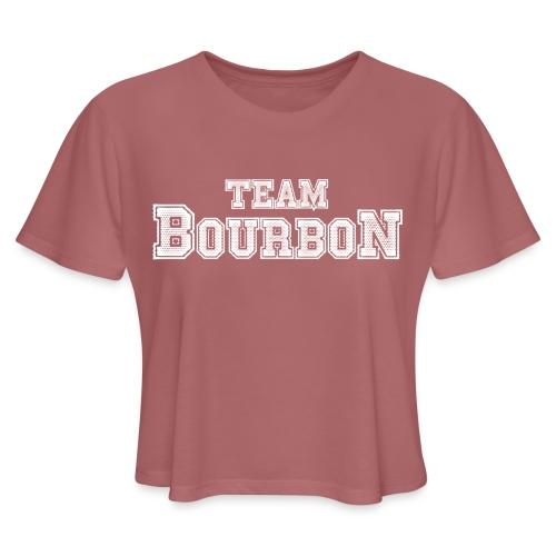 Team Bourbon - Women's Cropped T-Shirt