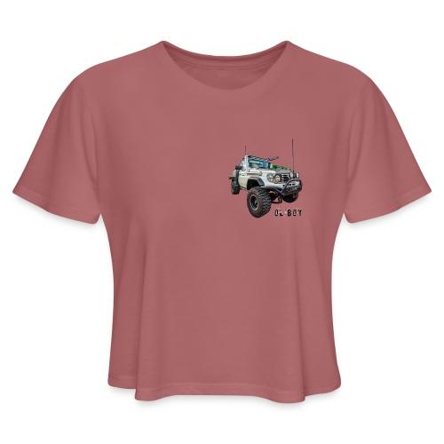 Ol Boy Merch - Women's Cropped T-Shirt