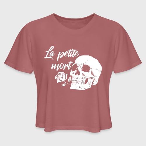 La Petit Mort - Women's Cropped T-Shirt