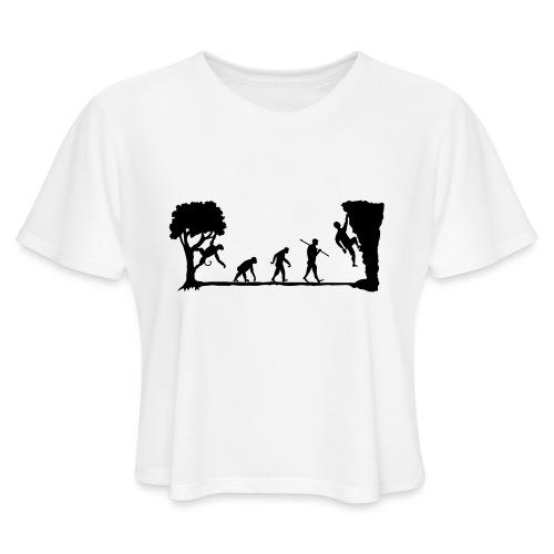 Apes Climb - Women's Cropped T-Shirt