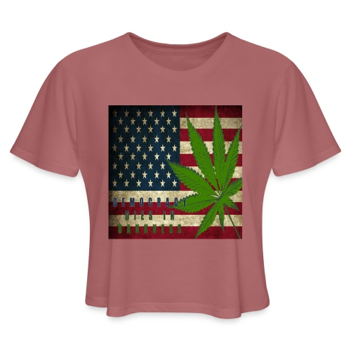 Political humor - Women's Cropped T-Shirt